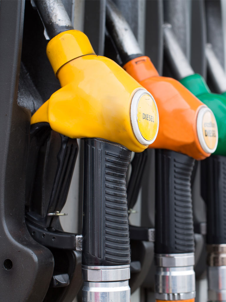 CHOICE ACCORDING TO THE TYPE OF FUEL